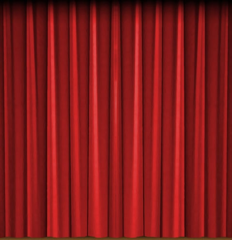 Circus curtain front right