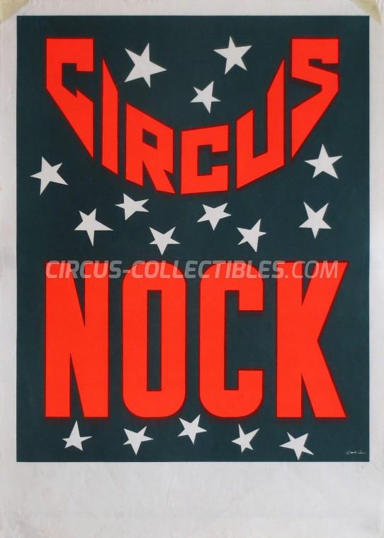 Nock Circus Poster - Switzerland, 1976
