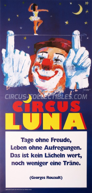Luna Circus Poster - Germany, 0