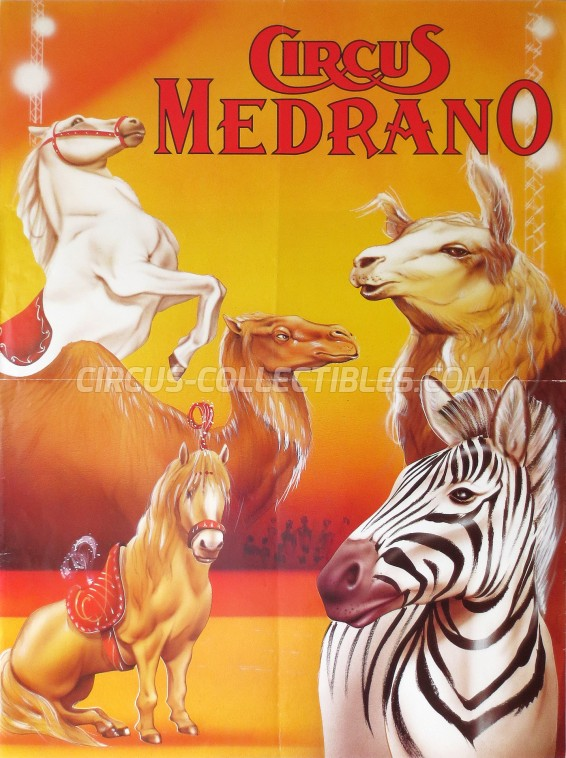 Medrano (CH) Circus Poster - Switzerland, 1996