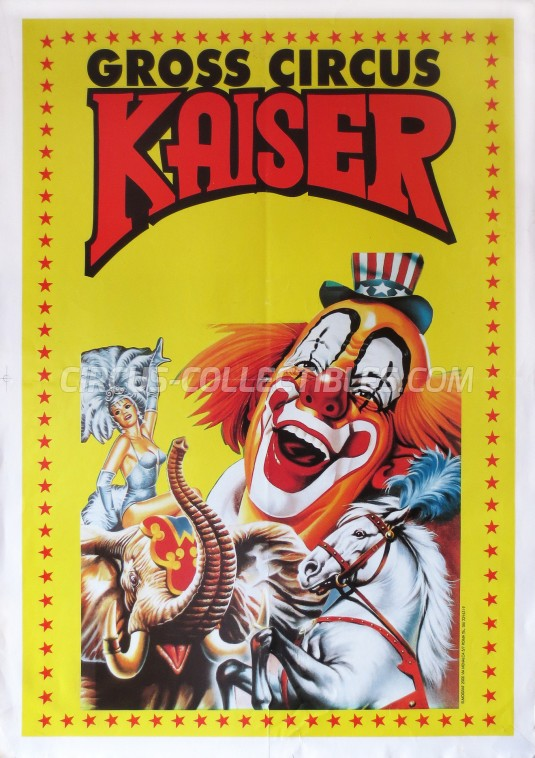 Kaiser Circus Poster - Germany, 0