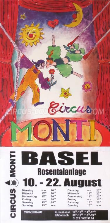 Monti Circus Poster - Switzerland, 0
