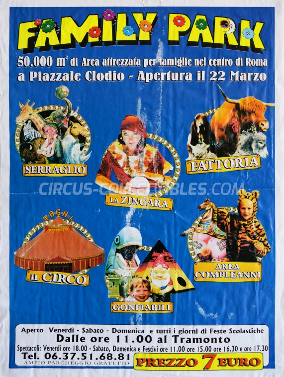Togni Circus Poster - Italy, 0