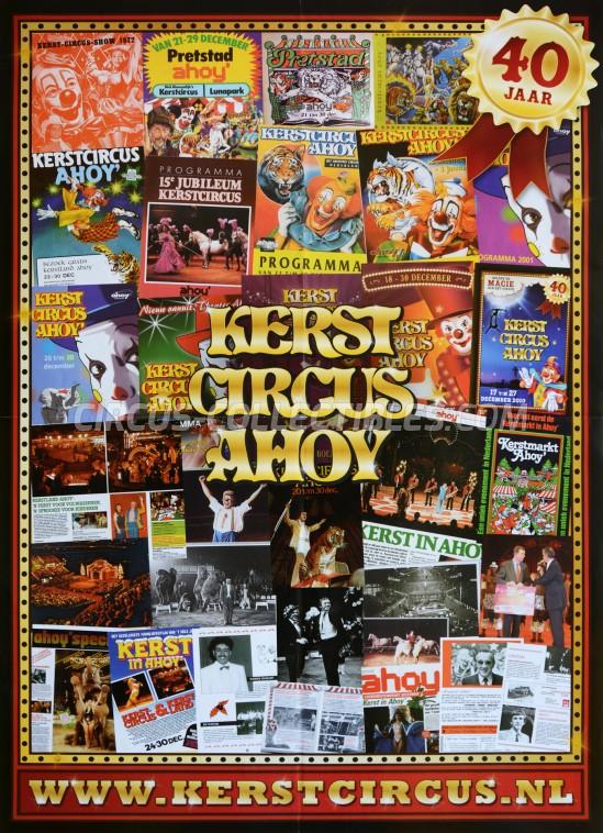 40 jaar ahoy Circus Collectibles Poster: Kerstcircus Ahoy   40 Jaar (zirkus  40 jaar ahoy