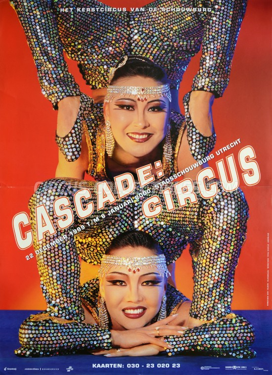 Cascade Circus Circus Poster - Netherlands, 1999