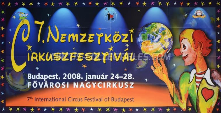 Fovarosi Nagycirkusz Circus Poster - Hungary, 2008