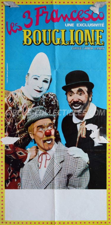 Bouglione Circus Poster - France, 1972