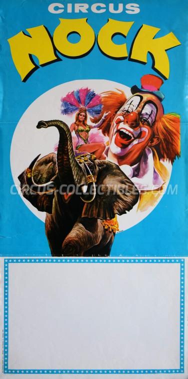 Nock Circus Poster - Switzerland, 1978