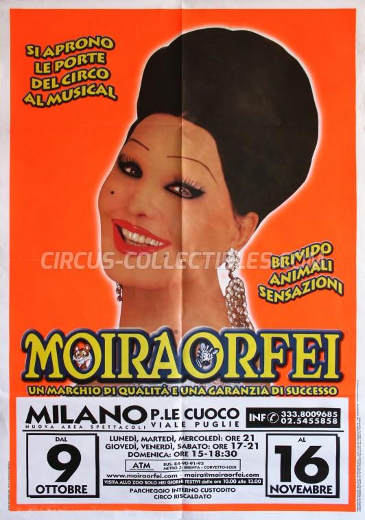 Moira Orfei Circus Poster - Italy, 2003