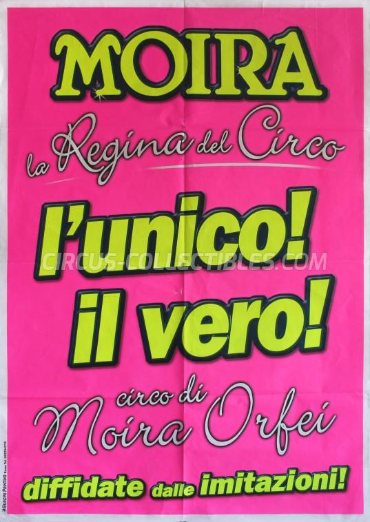 Moira Orfei Circus Poster - Italy, 2011