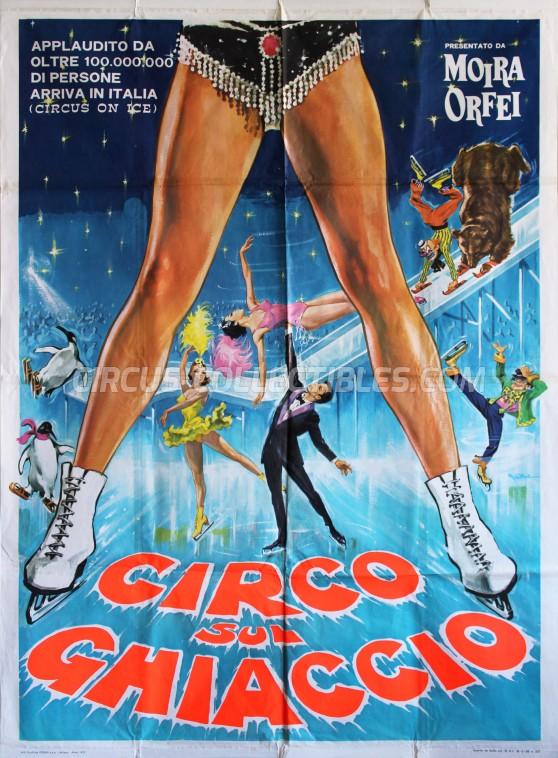 Moira Orfei Circus Poster - Italy, 1972