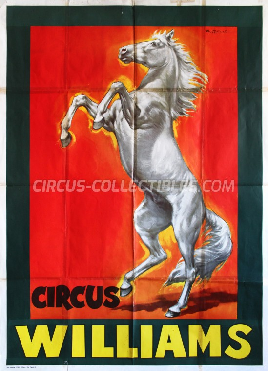 Williams Circus Poster - Germany, 1967