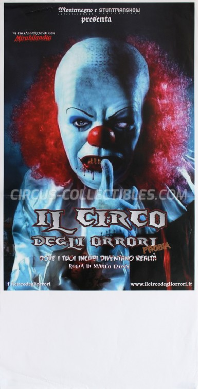 Il Circo degli Orrori Circus Poster - Italy, 2014