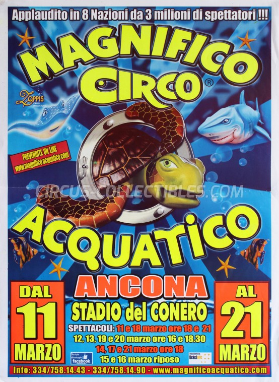 Acquatico  Circus Poster - Italy, 2016