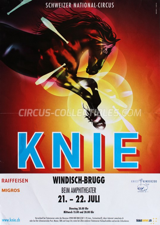 Knie Circus Poster - Switzerland, 2015