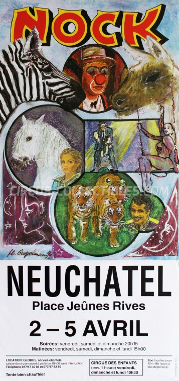 Nock Circus Poster - Switzerland, 1999