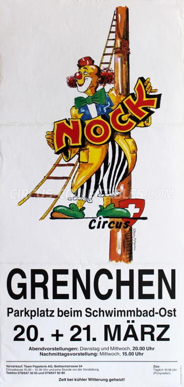 Nock Circus Poster - Switzerland, 2001