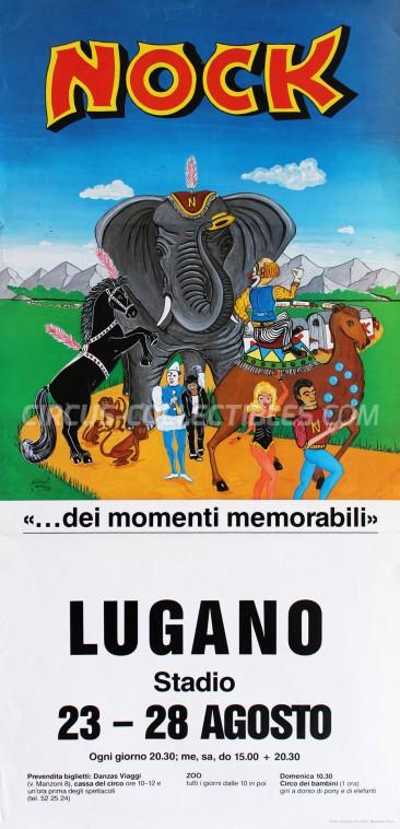 Nock Circus Poster - Switzerland, 1988