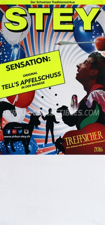 Stey Circus Poster - Switzerland, 2016