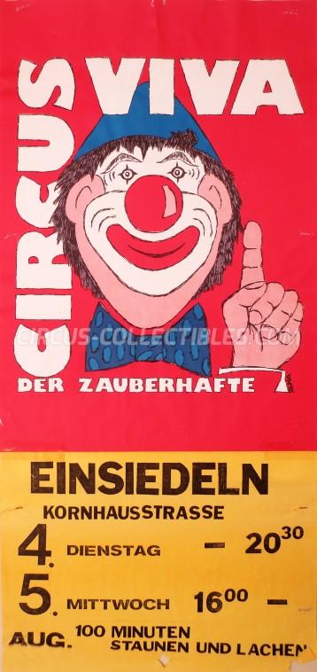 Viva Circus Poster - Switzerland, 0