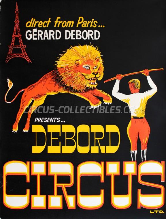 Debord Circus Circus Poster - Canada, 1964