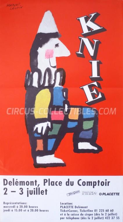 Knie Circus Poster - Switzerland, 1997