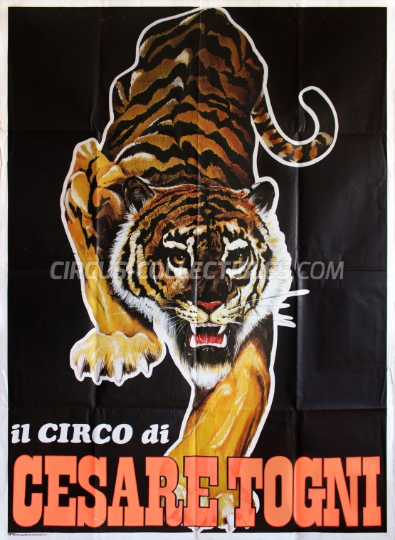 Cesare Togni Circus Poster - Italy, 0