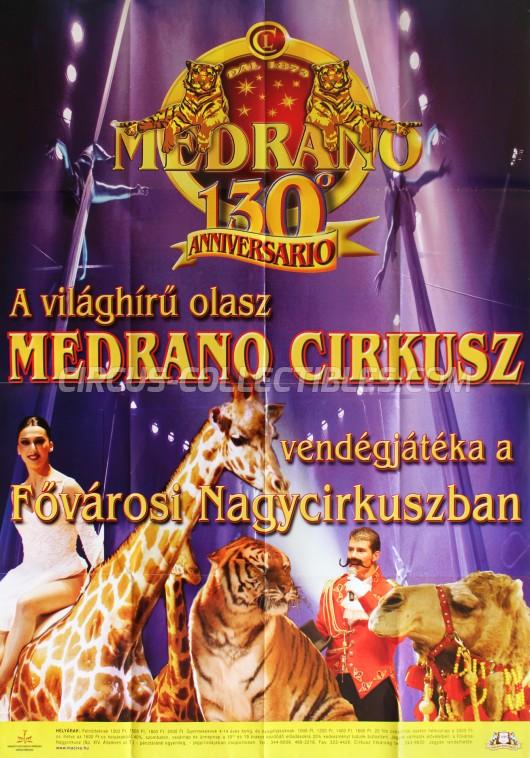 Medrano (Casartelli) Circus Poster - Italy, 2006