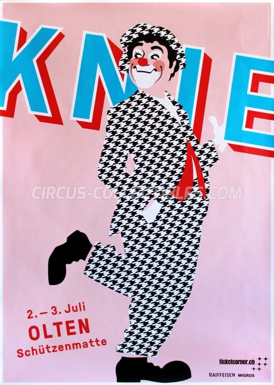 Knie Circus Poster - Switzerland, 2016
