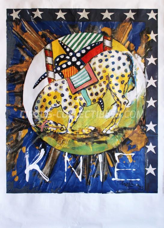 Knie Circus Poster - Switzerland, 1994