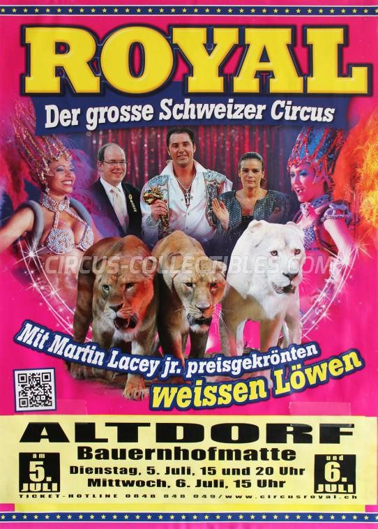 Royal (CH) Circus Poster - Switzerland, 2016