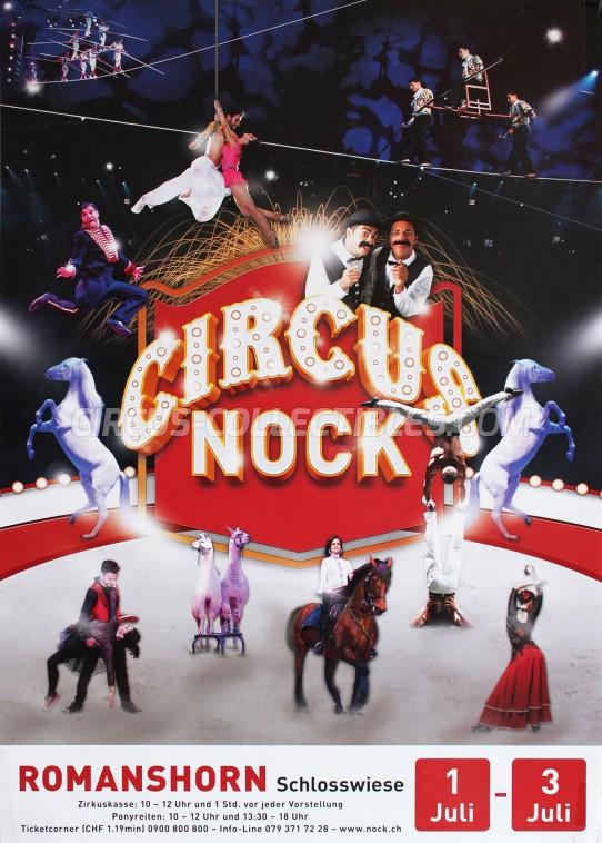 Nock Circus Poster - Switzerland, 2016