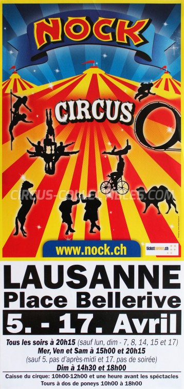 Nock Circus Poster - Switzerland, 2013