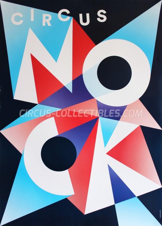 Nock Circus Poster - Switzerland, 2015
