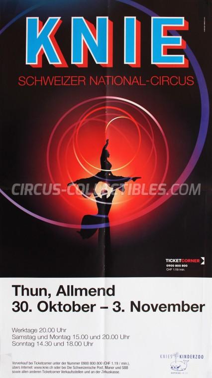 Knie Circus Poster - Switzerland, 2008
