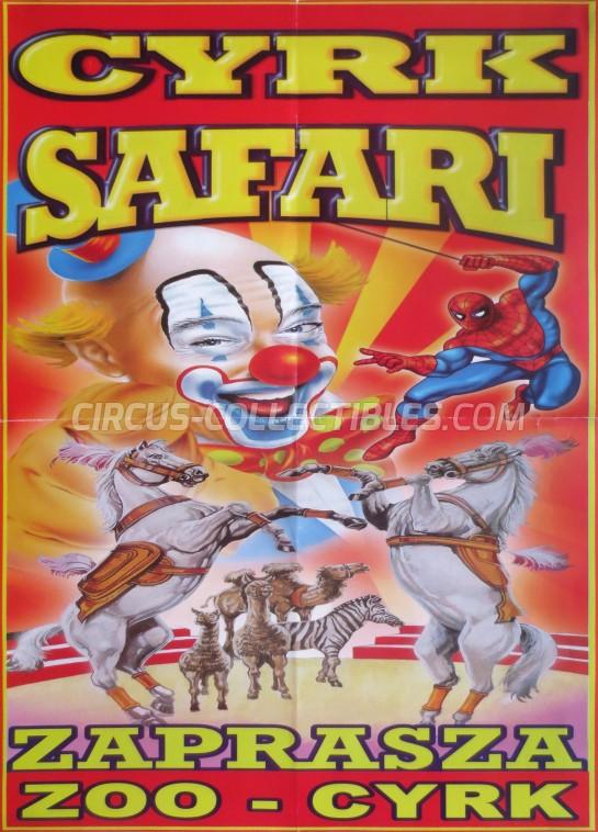 Safari (PL) Circus Poster - Poland, 2014