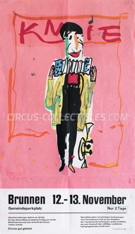 Knie Circus Poster - Switzerland, 1970