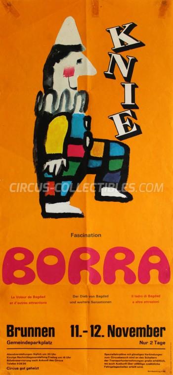 Knie Circus Poster - Switzerland, 1971