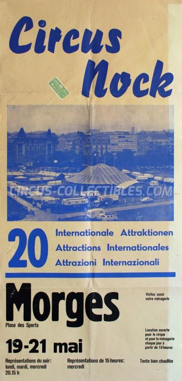 Nock Circus Poster - Switzerland, 1969