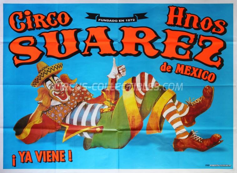 Suarez Circus Poster - Mexico, 2016