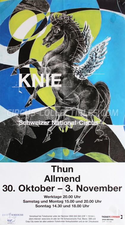 Knie Circus Poster - Switzerland, 2009