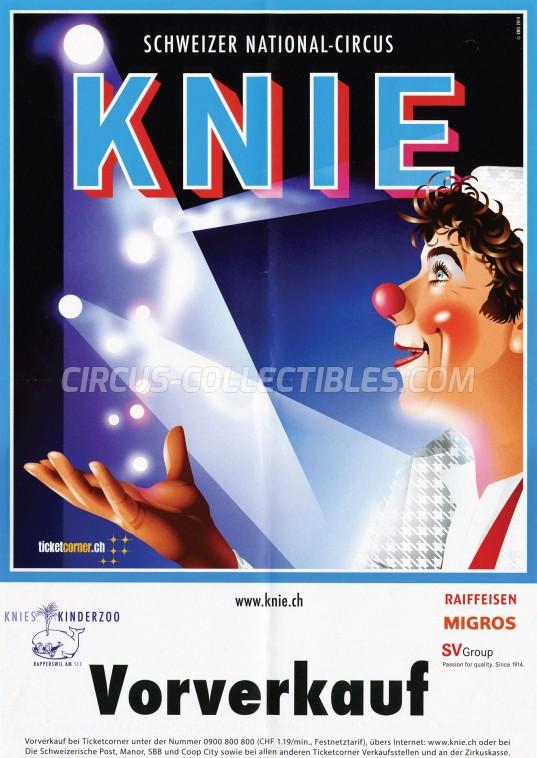 Knie Circus Poster - Switzerland, 2014