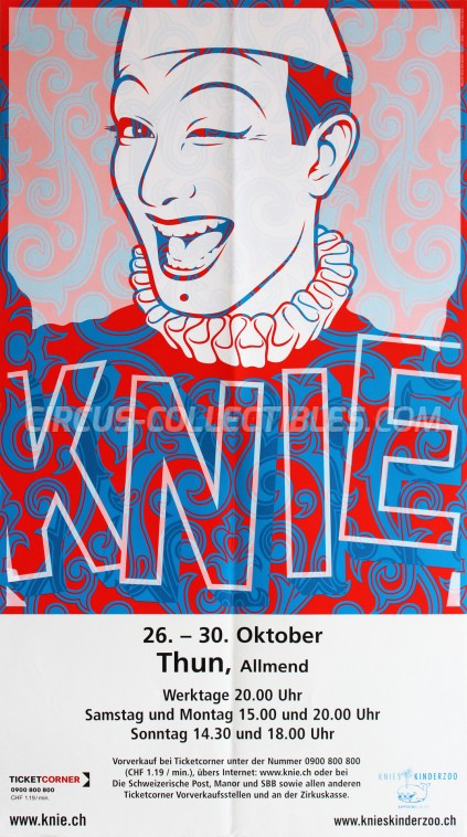 Knie Circus Poster - Switzerland, 2007