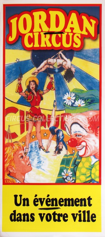 Jordan Circus Circus Poster - Egypt, 2006