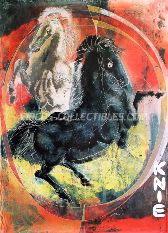 Knie Circus Poster - Switzerland, 1965
