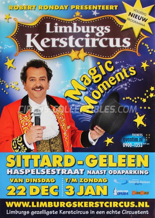 Kerstcircus Circus Poster - Netherlands, 2015