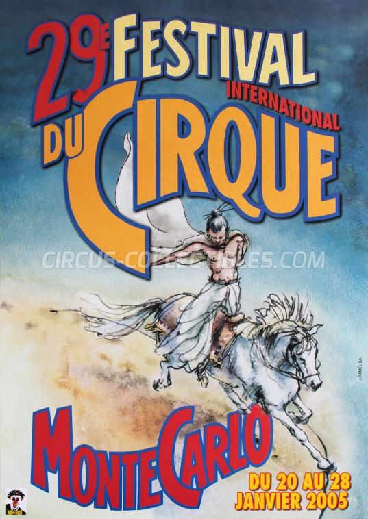 Festival International du Cirque de Monte-Carlo Circus Poster - Monaco, 2005