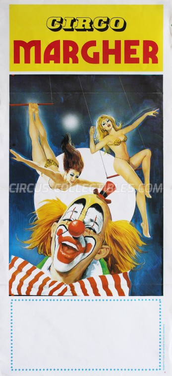 Margher Circus Poster - Italy, 1986