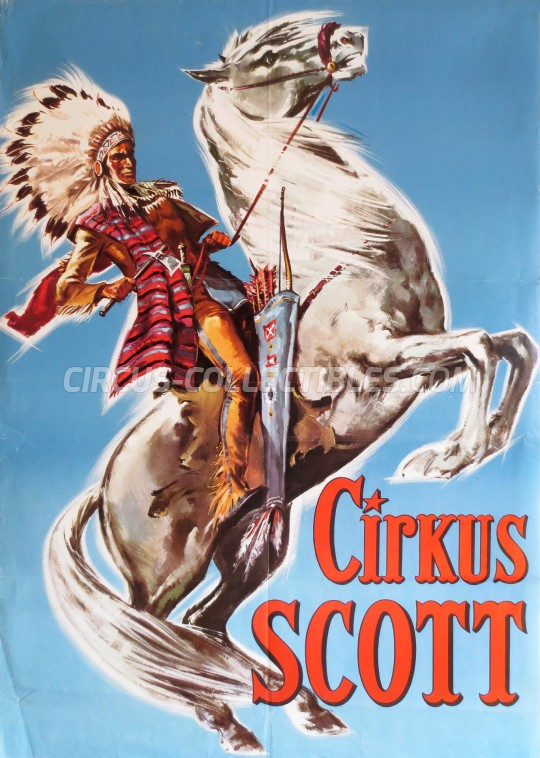 Scott Circus Poster - Sweden, 0