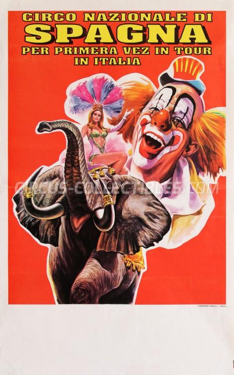 Circo di Spagna Circus Poster - Italy, 1997